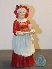 Dollhouse Miniature Christmas Mrs. Santa Figure 1:12 scale E13 Dollys Gallery