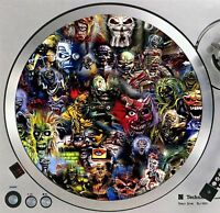 "Iron Maiden Eddie #1 Turntable Slipmat 12"" LP Record Player, DJ Slip Mat x1"