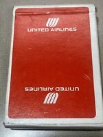 United Air Lines Playing Cards - Red - New/Sealed - Vintage