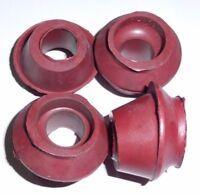 Rods rubber Caps for Dnepr 4 pcs black