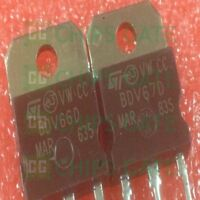 1PCS BDV67D Encapsulation:TO-3P,Silicon NPN Power Transistors