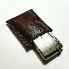 LIMITED SALE - New Handmade Leather SLEEVE / POUCH For Ronson Varaflame or OTHER