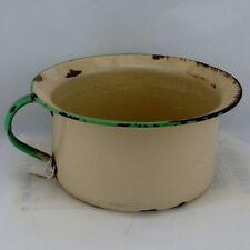 Enameled Chamber Pot