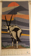 African Tapestry - Wall Hanging - Gemsbock - Swaziland