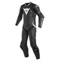 New Dainese Laguna Seca 4 Leather Suit Men's EU 50 Black/White #201513457-948-50
