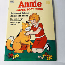 Annie paper doll book unused Happy House 1982