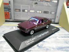OPEL Kadett C Coupe GT/E Sport Special Böhse Opelz purple Tuning Minichamps 1:43