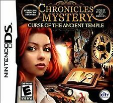 Chronicles of Mystery: Curse of the Ancient Temple - Nintendo DS by City Intera