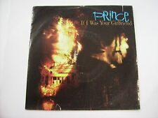 """PRINCE - IF I WAS YOUR GIRLFRIEND - 7"""" VINYL VERY GOOD CONDITION GERMANY 1987"""
