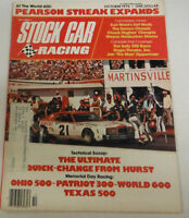 Stock Car Racing Magazine Quick Change From Hurst October 1976 072014R