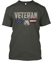 Veteran Logo Original - Hanes Tagless Tee T-Shirt