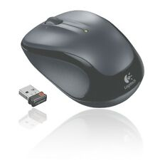 LOGITECH WIRELESS FUNK MAUS M325 MOUSE DUNKEL-GRAU 2,4GHz NANO USB ADAPTER M 325