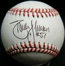 JSA Randy Johnson Autographed Signed AUTO MLB Gene Budig Baseball ZDV 467