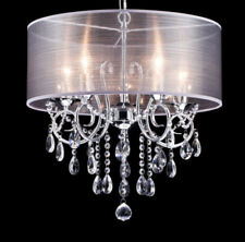 Crystal chandeliers ebay living room aloadofball Choice Image