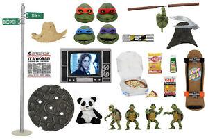 "NECA Teenage Mutant Ninja Turtles TMNT 1990 Movie 7"" Accessory Pack In Stock"