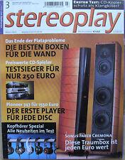 Stereoplay 3/02 Sonus Faber Cremona, Dali Scepter, TAC 834. Vincent SV 236