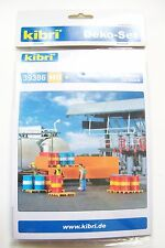 HO Kibri 39386 THIRTY-TWO ( 32 ) OIL DRUMS KIT : 1/87 MODEL DETAIL KIT