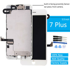 "For Apple iPhone 7 Plus 5.5"" Screen Replacement Touch LCD Digitizer Camera White"