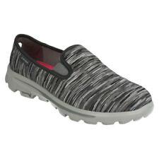 Scarpe da ginnastica grigi tessile Piatto (Meno di 1,3 cm) per donna