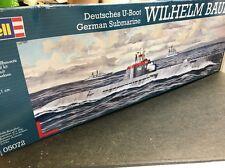 revell 1/144 05072 german submarine wilhelm bauer model ship kit sealed