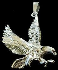 Adler Anhänger Silber 925 Amulett Sterlingsilber Biker st21