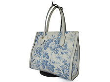 GUCCI Botanical Flowers Canvas Leather Shoulder Bag GS2256 / Japan Exclusive
