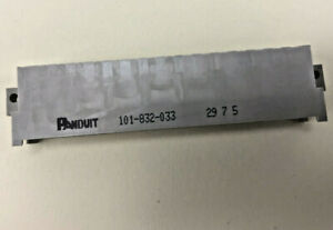 Panduit 101-832-033 DIN header, Type F, angled, solder pin 4.0mm, 32 contacts