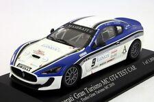MASERATI GRAN TURISMO MC GT4 TEST CAR #9 MONCADA PETRINI TROFEO 2010 MINICHAMPS