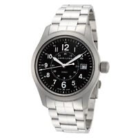 Hamilton Men's Khaki Field H68201163 38mm Green Dial Stainless Steel Watch