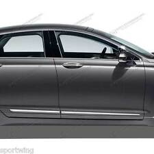 BODY SIDE Moldings LOWER CHROME Trim Mouldings For: LINCOLN MKZ 2013-2017