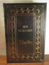 EASTON PRESS ASTRONAUT LIBRARY: MEN FROM EARTH - SIGNED BUZZ ALDRIN NEW & SEALED