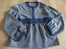 GUESS wunderschönes gestreiftes Shirt m. Knopfleiste Gr. 4 J / 104 NP 99,--  NEU