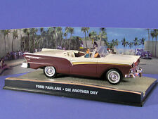 FORD FAIRLANE MEURS UN AUTRE JOUR 1/43 JAMES BOND 007 UNIVERSAL HOBBIES ATLAS