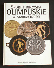 BOOK Sport & Olympic Games in Ancient Art Greek Roman pottery bronze sculpture
