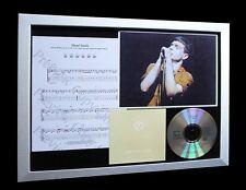 JOY DIVISION Dead Souls LTD Nod CD MUSIC FRAMED DISPLAY