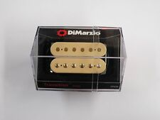 DiMarzio Regular Spaced Transition Bridge Humbucker Creme W/Gold Poles DP 255