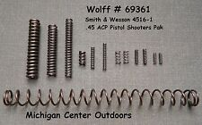 SMITH & WESSON SEMI-AUTO SPRING PAK Model 4516-1  .45 ACP Pistol Wolff # 69361