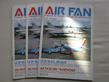 AIR FAN 32 SALON BOURGET 1981 2ème GHL ALAT LILLE BASE AEREA GETAFE A-10 WARTHOG