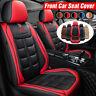 Singolo Universal Rosso Auto Anteriore Coprisedili Fodere Foderine Per Fiat Vw