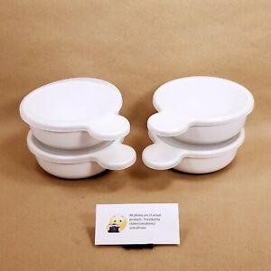 Corning Ware Grab-Its Set of 4 w/ Plastic Lids #P-150-B