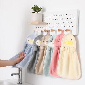 Hand Towels UltraThick Kids BathroomTowels Microfiber Absorbent Hand Towels H