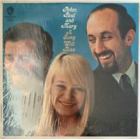 PETER PAUL AND MARY A SONG WILL RISE LP WARNERS USA MONO GOLD LABELS  IN SHRINK