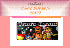 FIVE NIGHTS AT FREDDYS FNAF personalised door plaque 5 nights