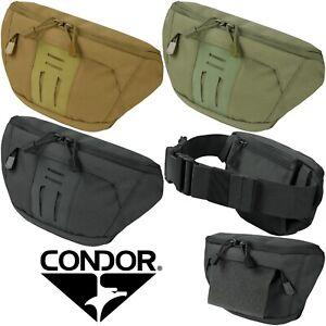 Condor 111196 GEN II Draw Down Tactical Fanny Hook Loop Adjustable Waist Pack