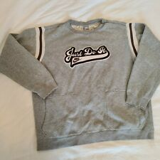 Vintage Nike Just Do It Sweatshirt Mens XXL Grey Pullover Big Logo Pockets VGC