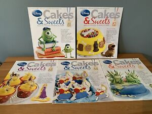 Disney Cakes & Sweets Magazines x5  Issues 81 - 85 (MAG ONLY) 81 82 83 84 85