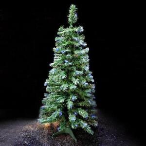 Green Fibre Optic Xmas Trees 6ft/180cm