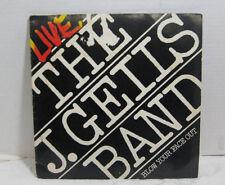 """Vintage 2 Record Set Live The J. Geils Band """"Blow Your Face Out"""" Vinyl Atlantic"""