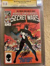 Secret Wars 8 - CGC SS 9.8 - 3x Stan Lee, Zeck, Beatty - Key Symbiote Origin!