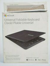 Microsoft Universal Foldable keyboard 1695 GU5-00001 Windows Bluetooth - NOB